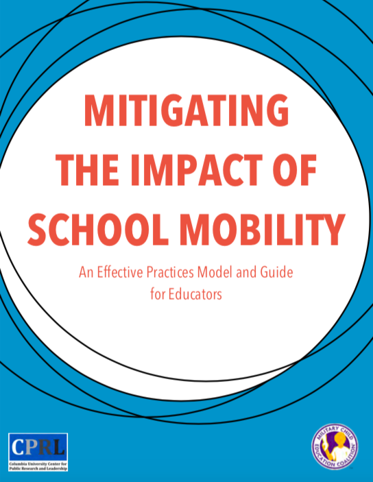 Image of Mitigating the Impact of School Mobility: An Effective Practices Model and Guide for Educators Cover Page
