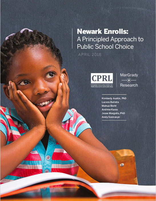 Image of Newark Enrolls Report Cover Page